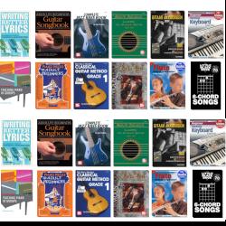 Muziekles met e-books