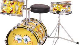spongebob drumstel